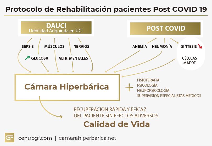 Infografia Protocolo recuperación Covid 19