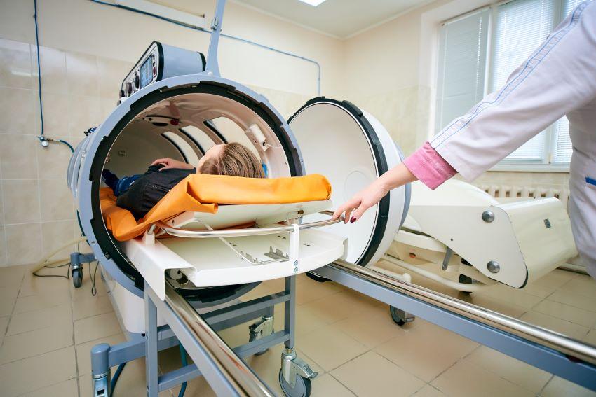 Tratamiento del coronavirus con cámara hiperbárica